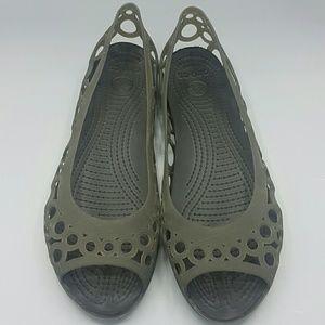 Ladies Croc Flats